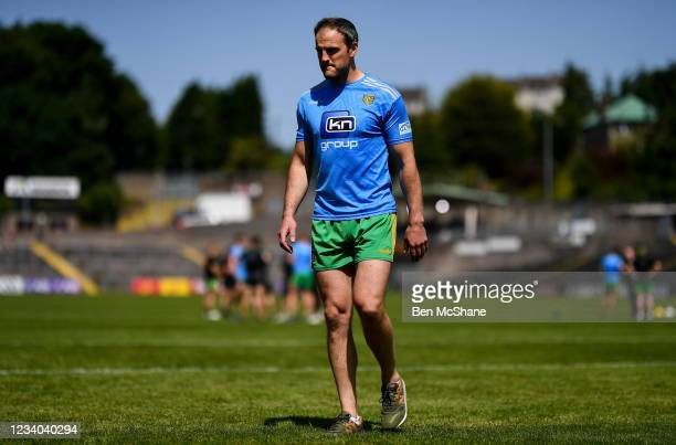Fermanagh , United Kingdom - 18 July 2021; Michael Murphy of Donegal before the Ulster GAA Football Senior Championship Semi-Final match between...