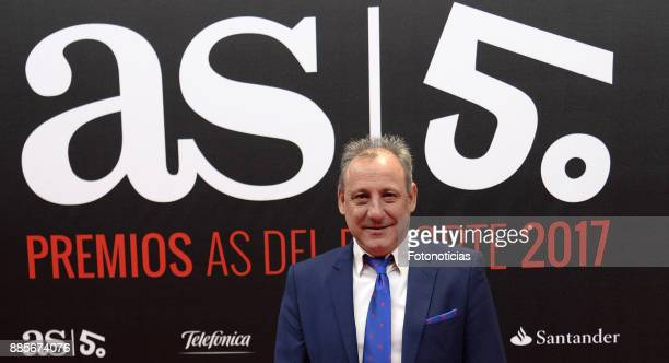Fermin Cacho attend the 'As del Deporte' and 'As' sports newspaper 50th anniversary dinner at the Palacio de Cibeles on December 4 2017 in Madrid...