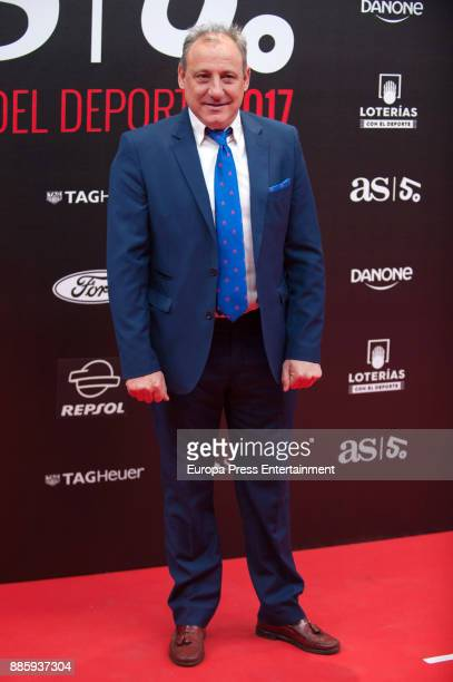 Fermin Cacho attends the 'As del Deporte' and 'As' sports newspaper 50th anniversary dinner at the Palacio de Cibeles on December 4 2017 in Madrid...