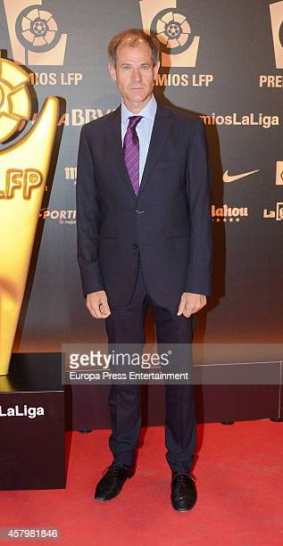 Fermin Cacho attends the LFP Awards Gala 2014 on October 27 2014 in Madrid Spain