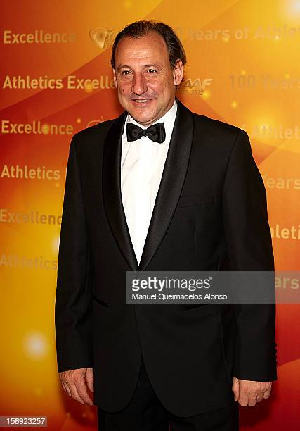 Fermin Cacho of Spain attends the IAAF Centenary Gala at the Museo Nacional d'Art de Catalunya on November 24 2012 in Barcelona Spain