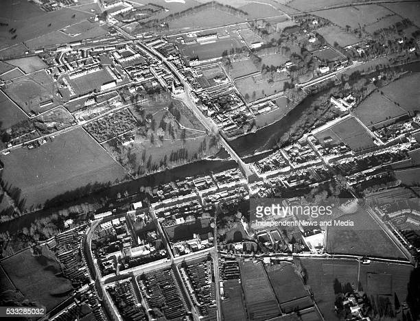 Fermoy Co Cork divided by the River Blackwater 26/07/57 Photograph by Alexander Campbell 'Monkey' Morgan