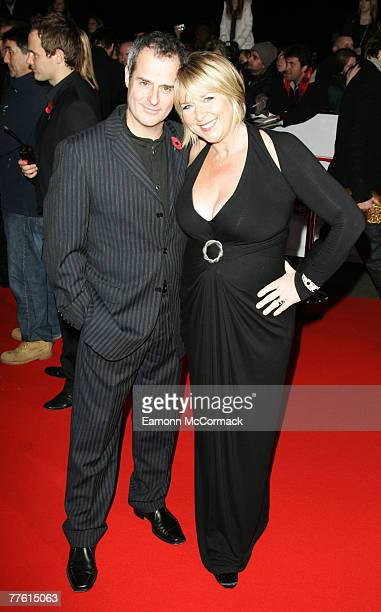 Fern Britten and Phil Vickery arrives for the National Television Awards at the Royal Albert Hall on 31 October 2007 in London England