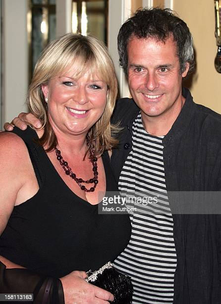 Fern Britton And Phil Vickery Attend The Tv Quick Tv Choice Awards At London'S Dorchester Hotel