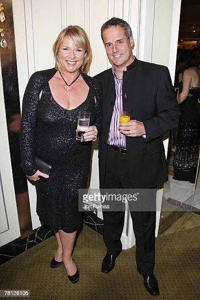 Fern Britton and Phil Vickery attends the TV Quick and TV Choice Awards at the Dorchester Hotel on September 03 2007 in London