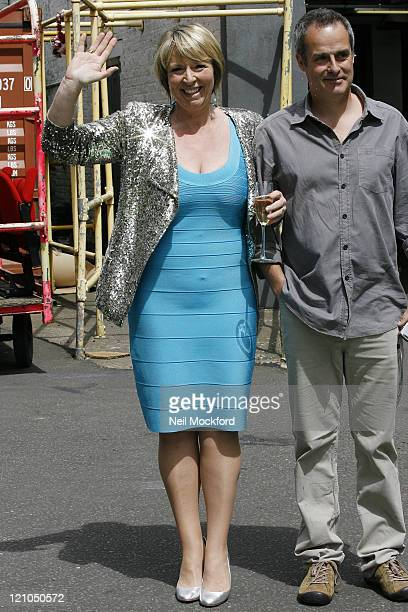 Fern Britton and Phil Vickery sighting on July 17 2009 in London England It was Fern Britton's last time presenting This Morning