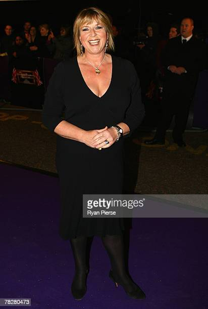 Fern Britton arrives at the British Comedy Awards 2007 at London Studios on December 5, 2007 in London, United Kingdom.
