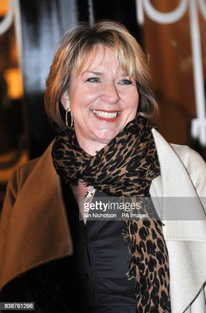 Fern Britton arrives for the Radio Times Covers Party at Claridges Hotel London