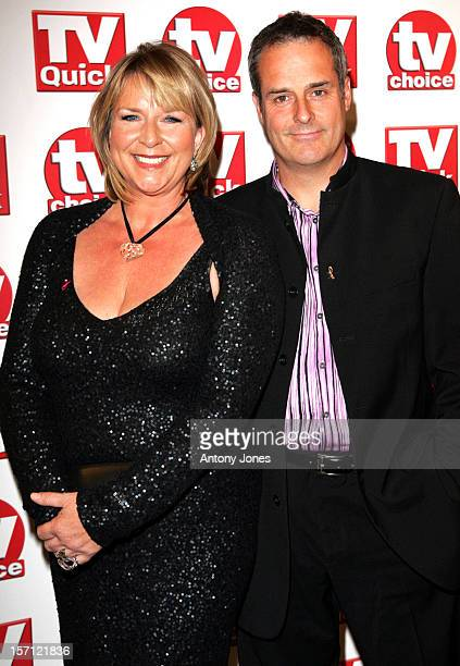 Fern Britton Phil Vickery Attend Attends The 2007 Tv Quick Tv Choice Awards In London