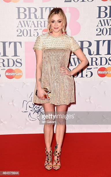 Fern Cotton attends the BRIT Awards 2015 at The O2 Arena on February 25 2015 in London England