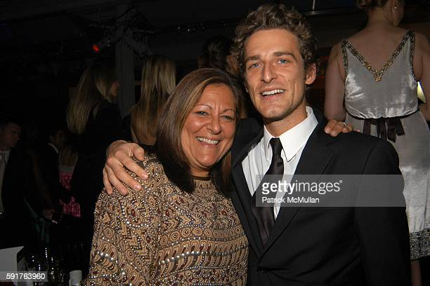 Fern Mallis and Alexi Lubomirski attend La Dolce Vita Charity Gala Hosted by Trudie Styler with performance by Sting at Metropolitan Pavilion/Altman...