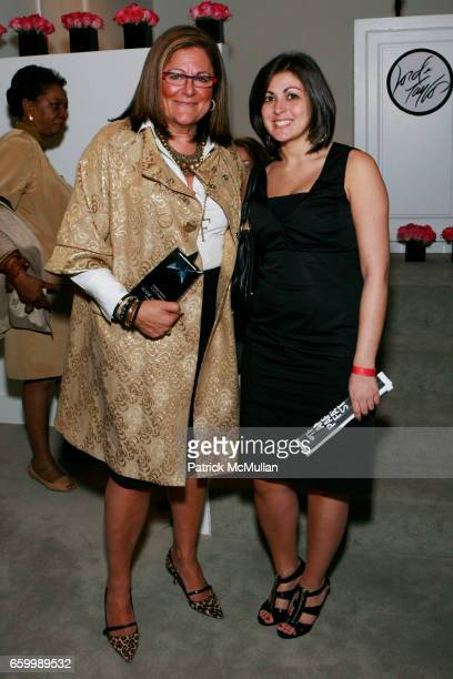 Fern Mallis and Alison Levy attend 10th ANNUAL PARSONS FASHION STUDIES LINE DEBUT at Lord Taylor on May 14 2009 in New York City