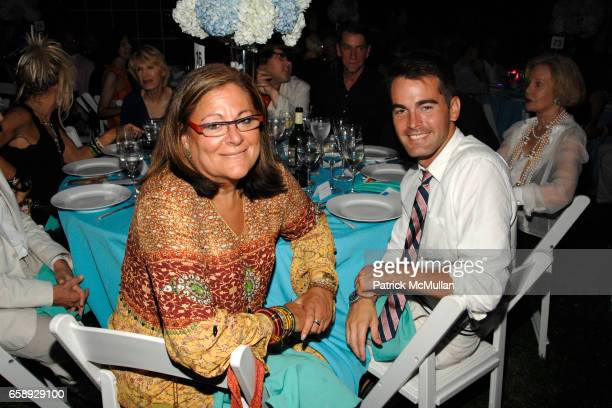 Fern Mallis and Andrew Freesmeier attend The Art of Fashion in The Hamptons GUILD HALL Summer Gala Honoring MARJORIE F CHESTER Sponsored by Van Cleef...