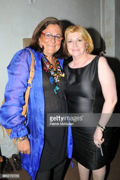 Fern Mallis and Faith Hope Consolo attend NEW YORK CITY's OPERA DIVAS Shop for Opera at 717 Madison Ave on June 24 2009 in New York City