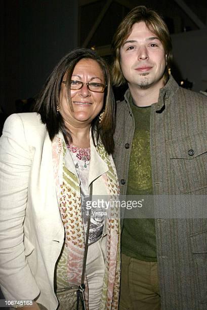 Fern Mallis and J Mackye Gruber during MercedesBenz Fall 2004 Fashion Week at Smashbox Studios Judith Ripka In Touch Weekly Party at Smash Box...