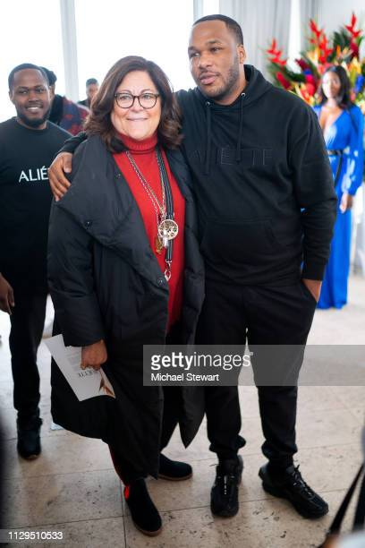Fern Mallis and Jason Rembert attend the Aliette Presentation during New York Fashion Week The Shows at The Standard East Village on February 13 2019...