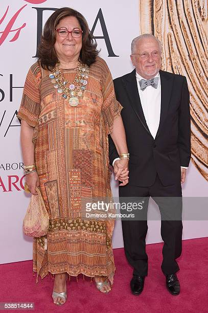 Fern Mallis and Stan Herman attend the 2016 CFDA Fashion Awards at the Hammerstein Ballroom on June 6, 2016 in New York City.