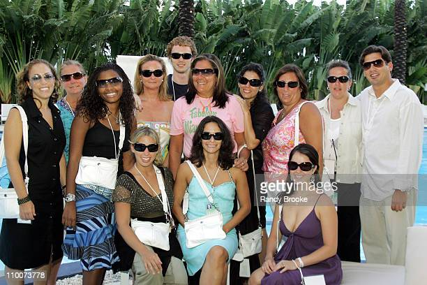 Fern Mallis and team with Coach bags and eyewear from Sunglass Hut