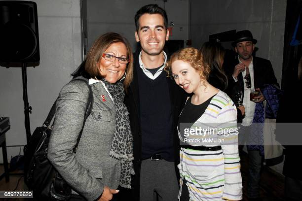 Fern Mallis Andrew Freesmeier and Faran Krentcil attend LULU FROST KAROLINA ZMARLAK PreFashion Week Party on the High Line at 511 West 25th Street on...