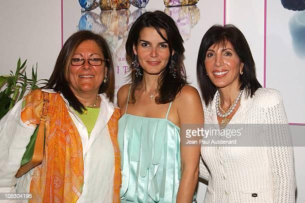 Fern Mallis Angie Harmon and Janice Winter CEO Judith Ripka Jewelry