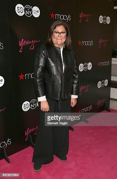 Fern Mallis attend the Macy's CelebratesThe 50th Anniversary Of The Mayor's Office Of Media And Entertainment at Macy's Herald Square on January 26...