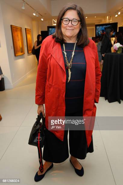 Fern Mallis attends 'A Magic Bus Cocktail Party' at DAG Modern on May 9 2017 in New York City