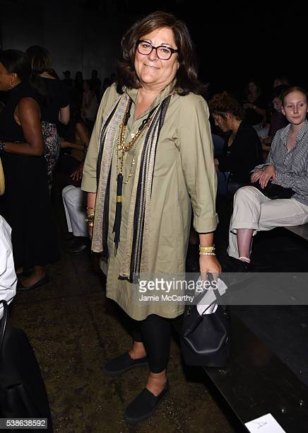 Fern Mallis attends Public School's Women's And Men's Spring 2017 Collection Runway Show at Cedar Lake on June 7 2016 in New York City