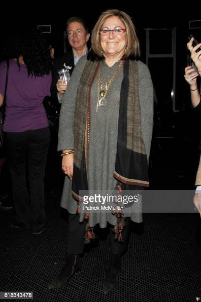 Fern Mallis attends Sundance Channel and Full Frontal Fashion Celebrate the Premiere of Catwalk Countdown at Poolside on 18th Floor on February 9...