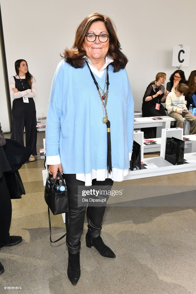 Fern Mallis attends the Bibhu Mohapatra front row during New York Fashion Week: The Shows at Gallery II at Spring Studios on February 9, 2018 in New York City.
