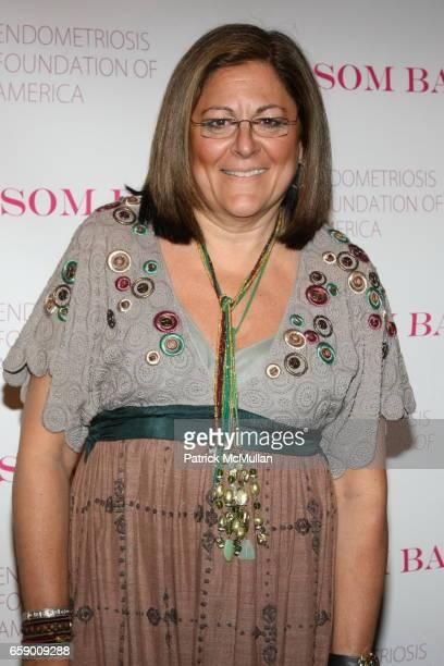 Fern Mallis attends The BLOSSOM BALL To Benefit The Endometriosis Foundation of America at The Prince George Ballroom on April 20 2009 in New York...