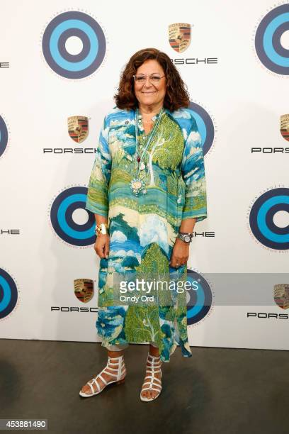Fern Mallis attends the CFDA Celebrates Fashion Targets Breast Cancer 20th Anniversary event with Maria Sharapova presented by Porsche at The New...