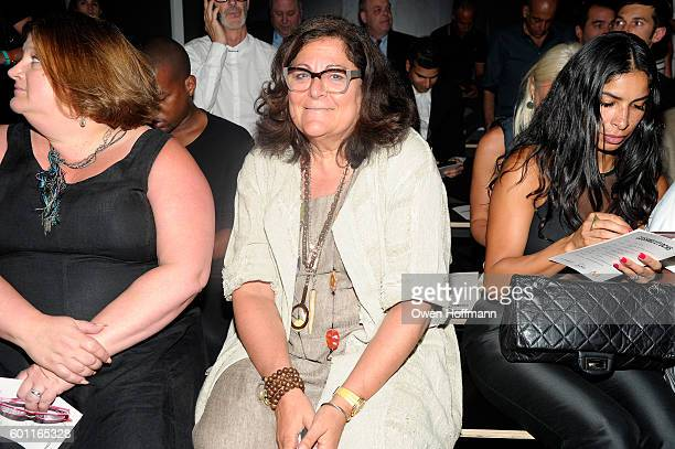 Fern Mallis attends the Cushnie et Ochs front row during New York Fashion Week: The Shows at The Dock, Skylight at Moynihan Station on September 9,...