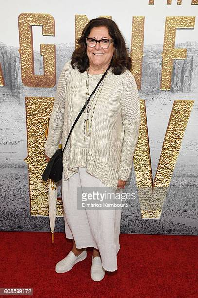 Fern Mallis attends The Magnificent Seven premiere at Museum of Modern Art on September 19 2016 in New York City
