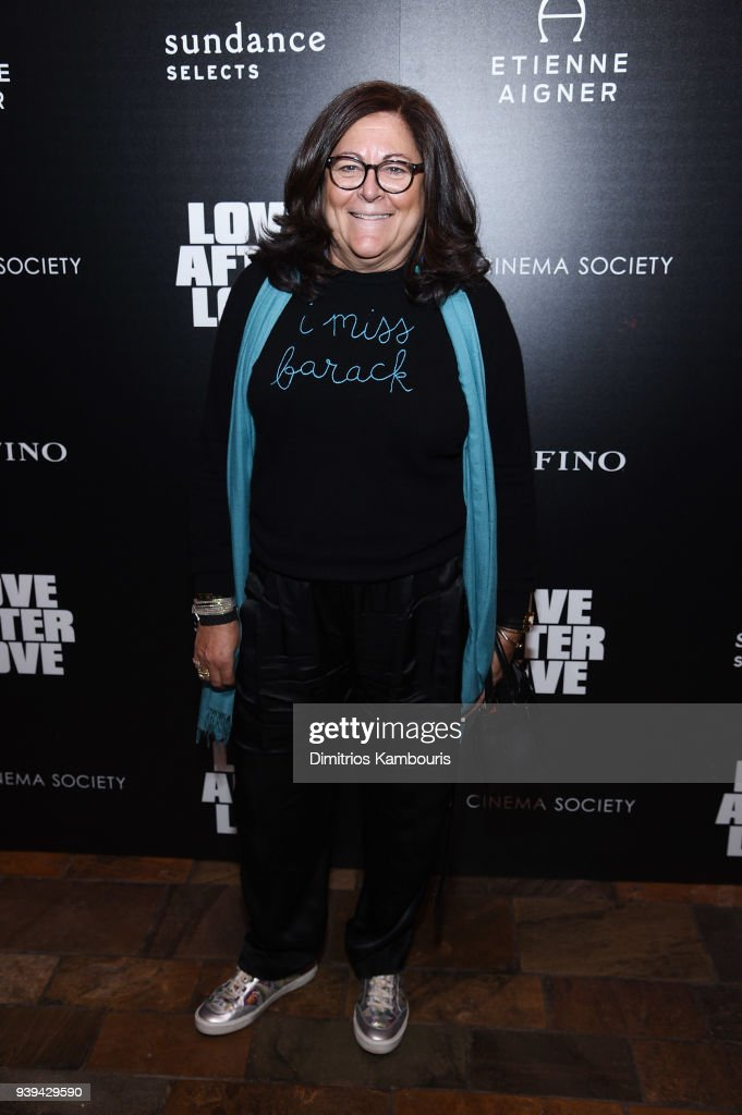 Fern Mallis attends the premiere of 'Love After Love' at The Roxy Cinema on March 28, 2018 in New York City.