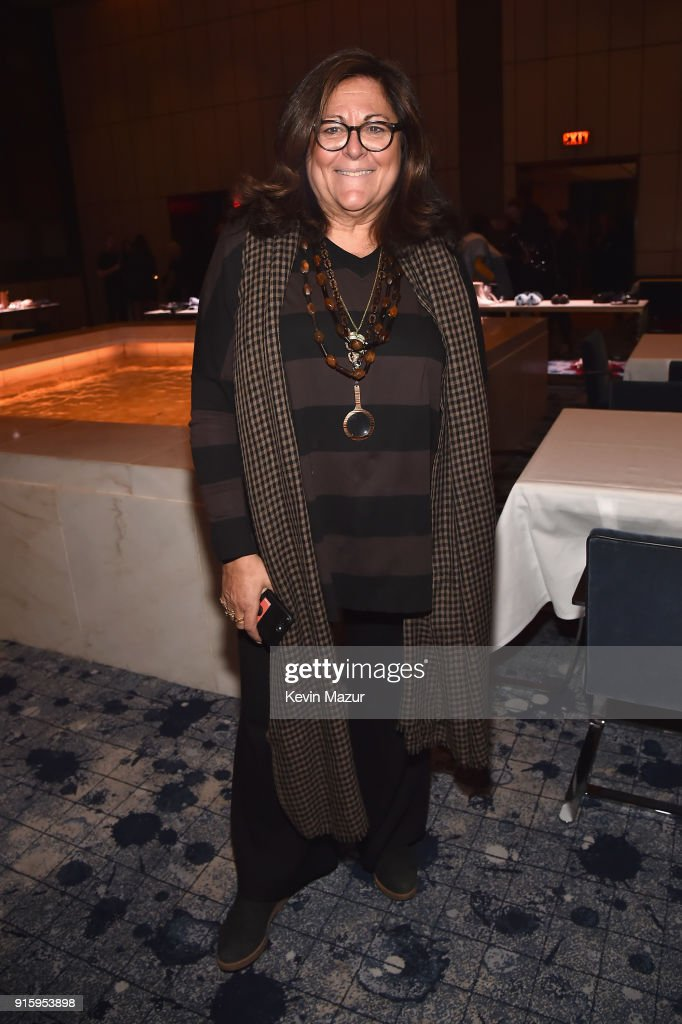 Fern Mallis attends the Stuart Weitzman FW18 Presentation and Cocktail Party at The Pool on February 8, 2018 in New York City.