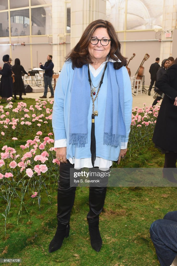 Fern Mallis attends the Tory Burch Fall Winter 2018 Fashion Show during New York Fashion Week at Bridge Market on February 9, 2018 in New York City.