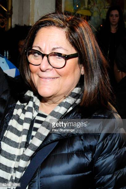 Fern Mallis attends the Tracy Reese Presentation during New York Fashion Week at 632 Hudson on February 12 2016 in New York City