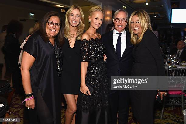 Fern Mallis Dee Ocleppo Hilfiger Louise Camuto Tommy Hilfiger and Jill Martin attend QVC presents FFANY Shoes on Sale on October 19 2015 at the...