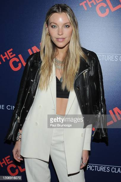 Fern Palmer attends Sony Pictures Classics And The Cinema Society Host A Special Screening Of The Climb at iPic Theater on March 12 2020 in New York...