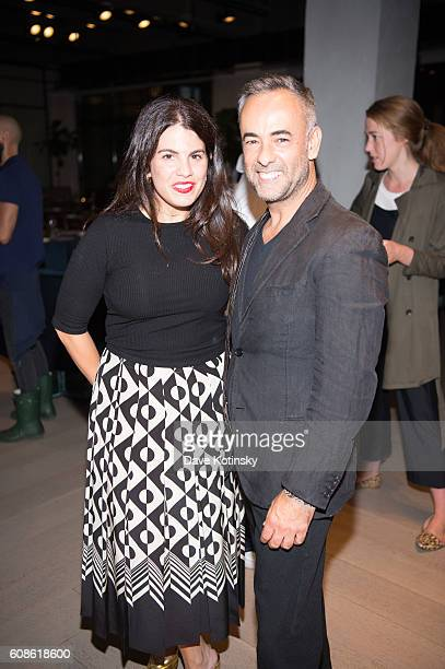 Fernanda Abdallaattends the Daniel Arsham Colorblind Artist In Full Color at Spring Place on September 19 2016 in New York City