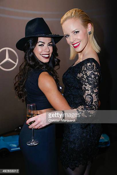 Fernanda Brandao and Isabel Edvardsson attends the Tribute to Bambi 2015 party at Station on October 15 2015 in Berlin Germany
