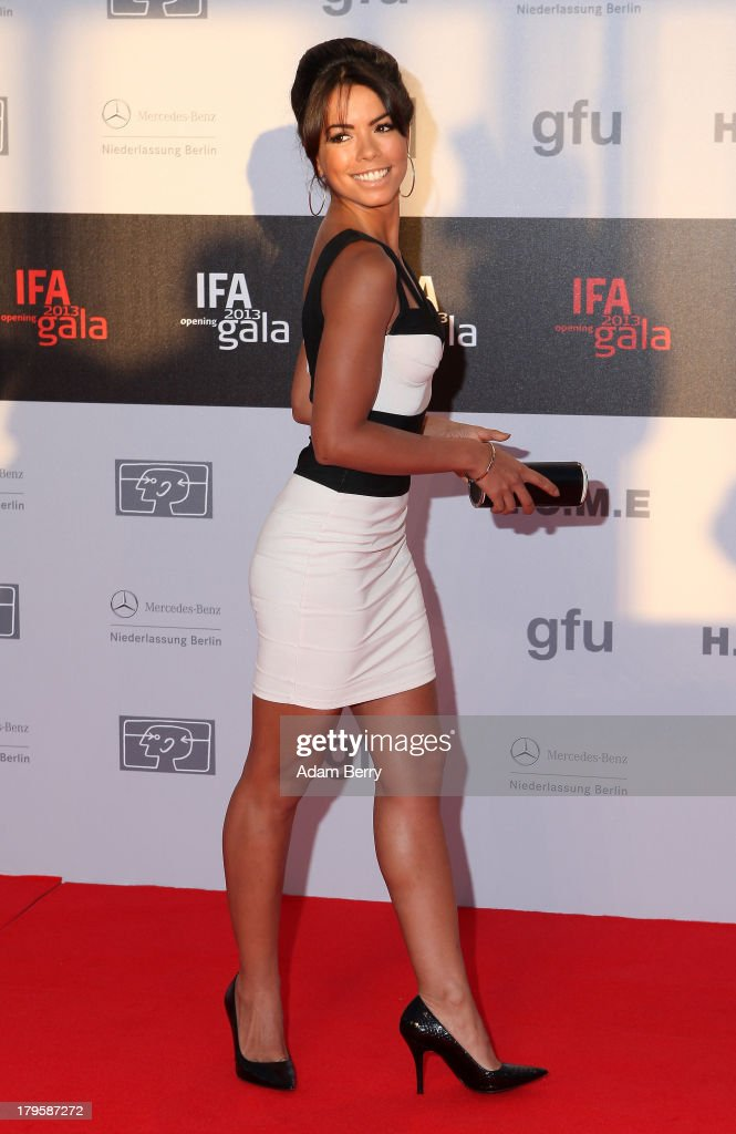 Fernanda Brandao arrives for the IFA 2013 Consumer Technology Trade Fair Opening Gala at Messe Berlin on September 5, 2013 in Berlin, Germany.