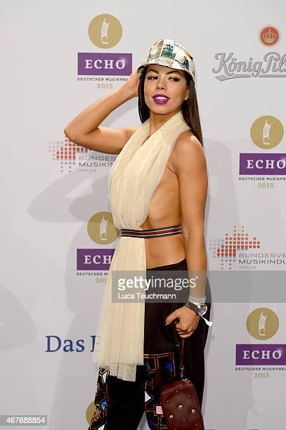 Fernanda Brandao attends the Echo Award 2015 Red Carpet Arrivals on March 26 2015 in Berlin Germany