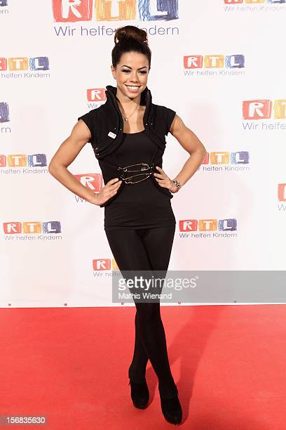 Fernanda Brandao attends the 'RTL Spendenmarathon' at RTL Studio Huerth on November 22 2012 in Cologne Germany