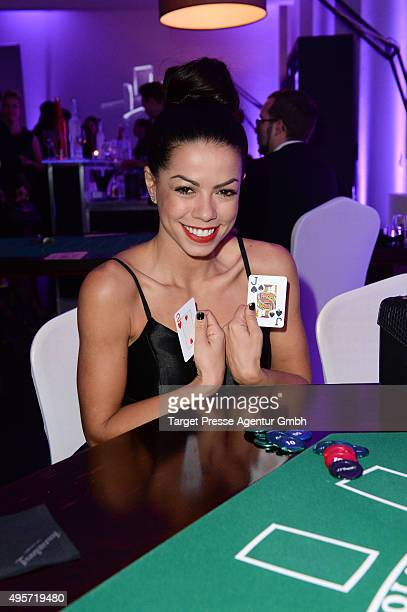 Fernanda Brandao attends the SPECTRE by ST Dupont launch event on November 4 2015 in Berlin Germany