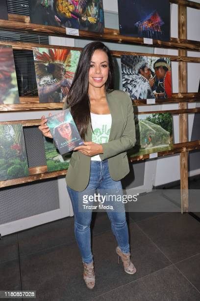 Fernanda Brandao during her book presentation and vernissage of Kaxinawa on October 11 2019 in Hamburg Germany
