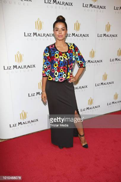 Fernanda Brandao during the Winter/Autumn Fashion Show 'Breaking The Ice' of Liz Malraux on August 2 2018 in Hamburg Germany