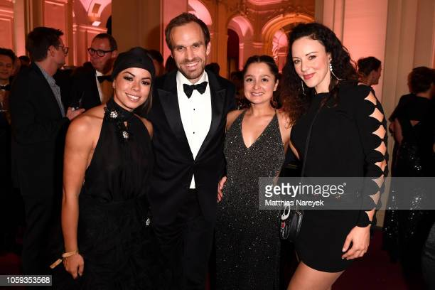 Fernanda Brandao guests and Jasmin Wagner attend the GQ Men of the Year Award after show party at Komische Oper on November 8 2018 in Berlin Germany