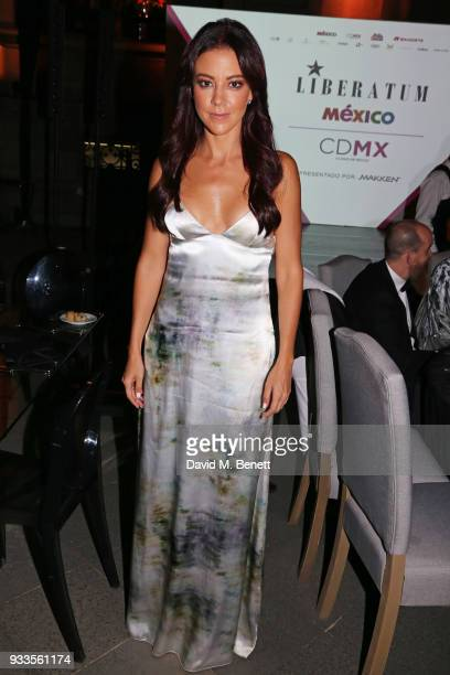 Fernanda Castillo attends the Liberatum Mexico Festival 2018 Gala Dinner and Liberatum Cultural Honour Awards at the Museo Nacional de Arte hosted by...
