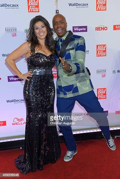 Fernanda Dibaba and Yared Dibaba attend the 'Goldene Bild Der Frau' Award 2014 at TUI Operettenhaus on November 20, 2014 in Hamburg, Germany.
